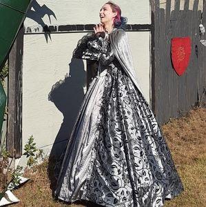 Victorian Choice Silver Renaissance Gown